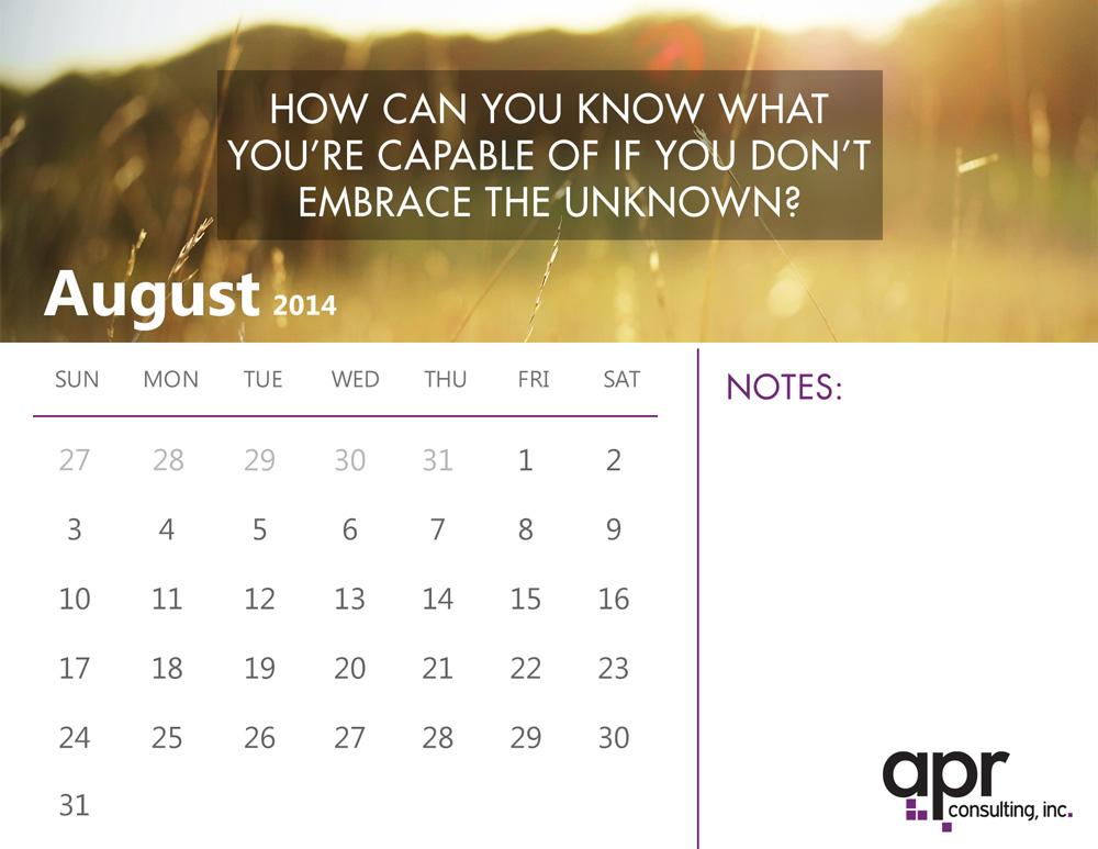 2014 August Calendar Here